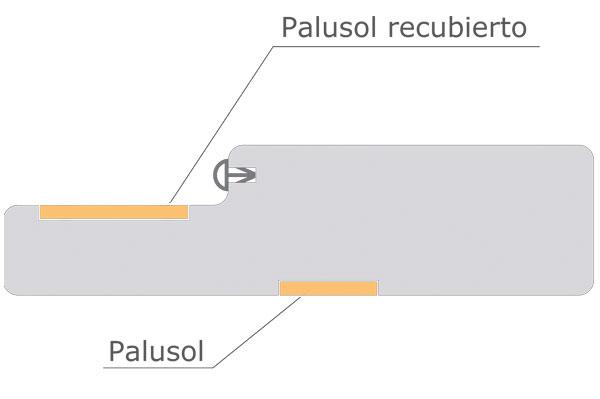 Detalle de cerco ignifugo R.F.60